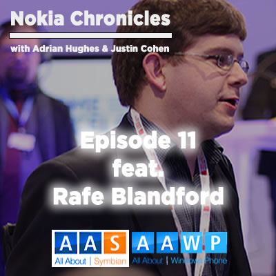 Rafe Blandford [AllAboutSymbian, AllAboutWindowsPhone, 361 Degrees Podcast]