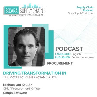 149. Driving transformation in the procurement organization