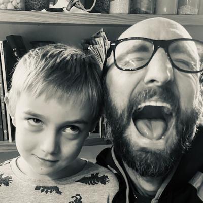 Father & Son Joke Time.