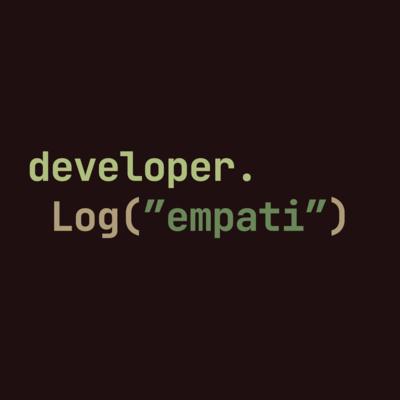 Developer Kurang Empati