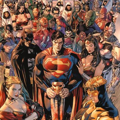 Dc Comics Multiverse Mutante Líder Nuevo 52 Día Del Juicio Final