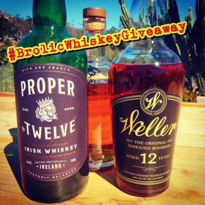 Giveaway announcement #BrolicWhiskeyGiveaway