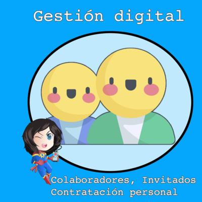 Colaboradores, invitados y gestores digitales #MarvelianaTecno