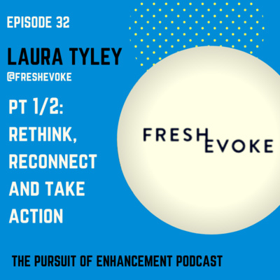 #32 Laura Tyley Pt 1/2 – Rethink, Reconnect and Take Action!
