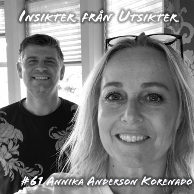 61. Annika Andersson Korenado - komikern från Mårdaklev