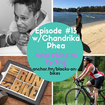 Episode #13 w/Chandrika Phea by Blacks On Bikes {The Crank