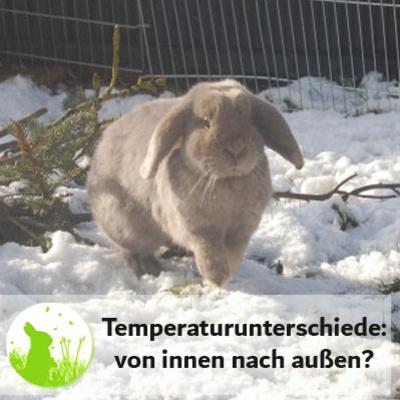 Temperaturunterschiede: von innen nach außen umgewöhnen