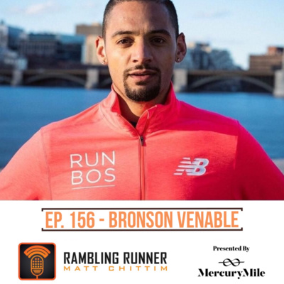 156 Bronson Venable by The Rambling Runner Podcast • A
