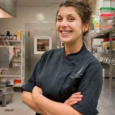 Interview mit Pastry Chef Sabrina Schanz in der Ritz-Carlton Patisserie in Berlin