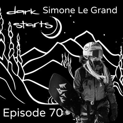 It's a life style with Simone Le Grand   Swiss splitboarder and big aspect rider, graphic designer, illustrator & massage therapist!