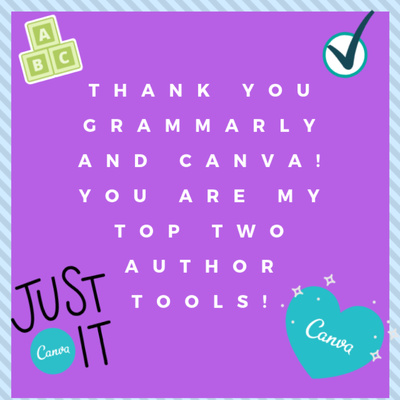 Thank you Grammarly and Canva! My 2 Favorite Author Tools by Jen