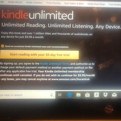 Try Kindle Unlimited - Free Trial by Jen Lowry Writes