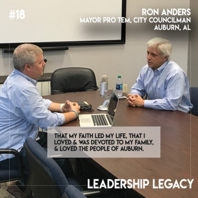 LL18: Ron Anders - Mayor Pro Tem, City Councilman, Auburn, AL