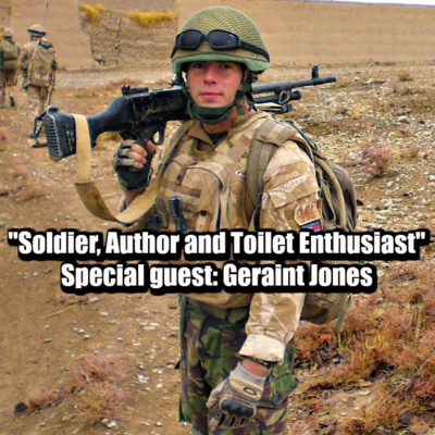 Geraint Jones: Soldier, Author and Toilet Enthusiast (part 1 of 2)