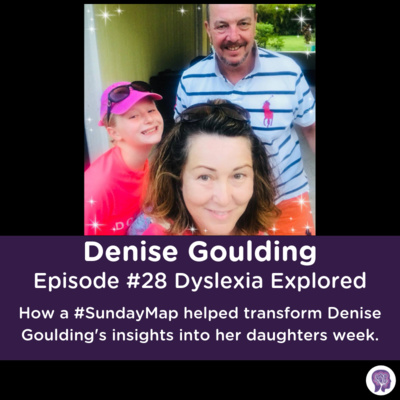 #28 How a #SundayMap helped transform Denise Goulding's insights into her daughters week.