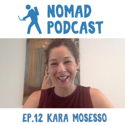 Ep 12: A decade of plant-based diet & 26 marathons: founder of Nomadic Nourishment gives dietary advice for nomads