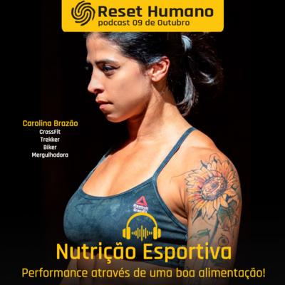 NUTRIÇÃO ESPORTIVA - Performance através de uma boa alimentação com Freddy Duclerc e a nutricionista Carolina Brazão!