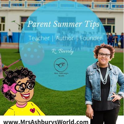 Parent Summer Tips