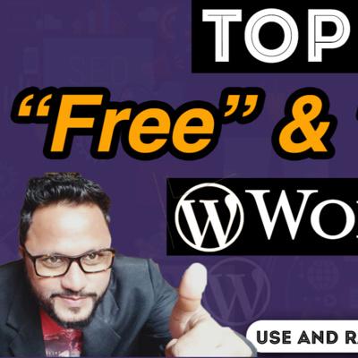 Best Free WordPress Themes 2021 Top 5 Best Free WordPress themes in 2021, Free WordPress themes