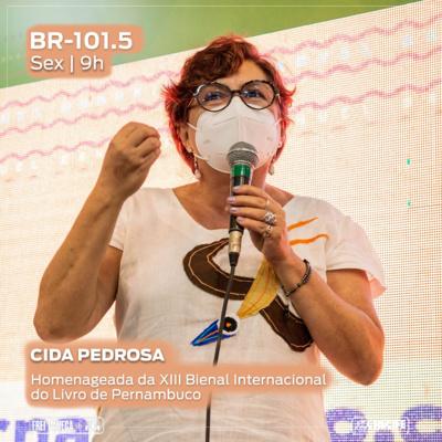 BR 101.5 - Cida Pedrosa fala sobre a homenagem durante a XIII Bienal Internacional do Livro de Pernambuco