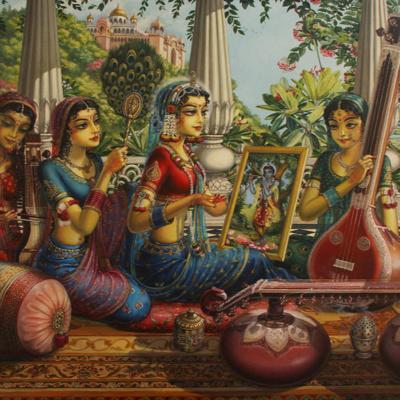 "390 – Single Voice Bhajan ❤ ""Bhavo Na Bhavo Na Mana"" by Bhaktivinoda Thakur"