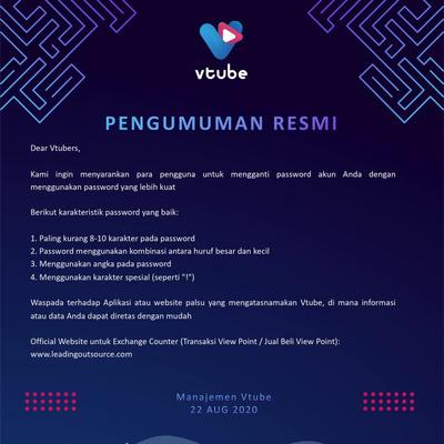Info Terbaru Update Aplikasi Vtube 2 0 By Team Mata Vtubers A Podcast On Anchor
