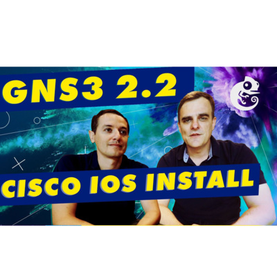 62: David Bombal: GNS3 IOS Images: Build a Cisco VIRL gns3 network