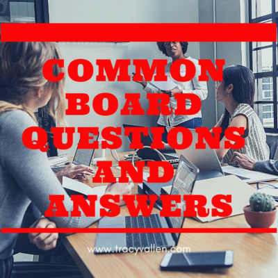 S1E25 - Common Board Questions and Answers