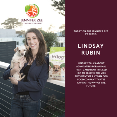 Can Your Dog go Plant-based? Lindsay Rubin - Vice President of V-dog Weighs In