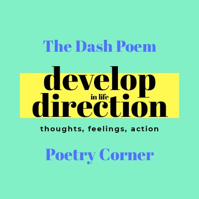 The Dash Poem Poetry Corner By Develop Direction In Life A Podcast On Anchor Of our time here on the earth mr. anchor