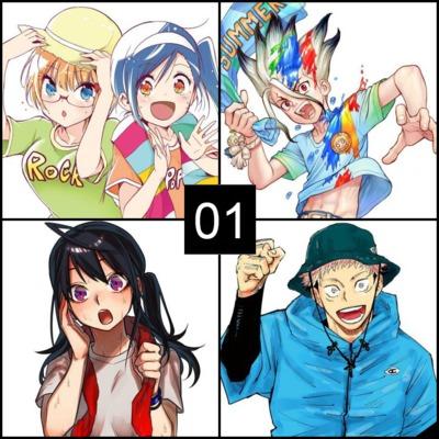 01 - Os novos sucessos da Shonen Jump