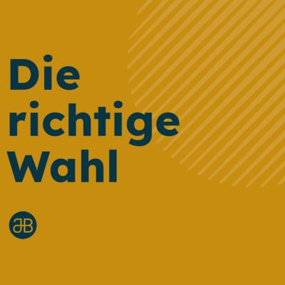 JOBST BITTNER - Die richtige Wahl/ 26.09.2021 / 16 Uhr
