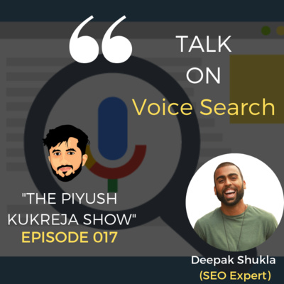 Seo for Voice Search Ft.Deepak Shukla #E017