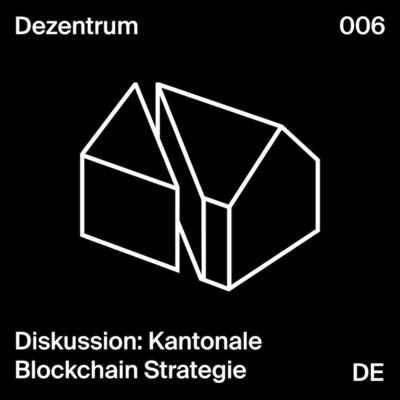 Diskussion mit Cornelia Stengel, Daniel Diemers & Mirjam Eggen: Kantonale Blockchain Strategie