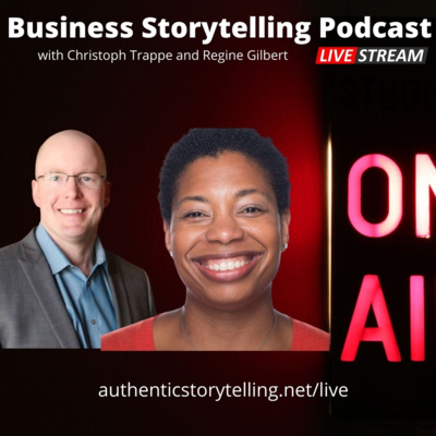 Business Storytelling Podcast  - cover