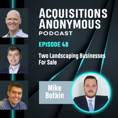 Two Landscaping Businesses for Sale - Mike Botkin of Benchmark Group - e48