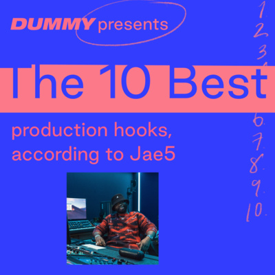 """Artwork for episode """"The 10 Best Production Hooks, according to Jae5"""""""