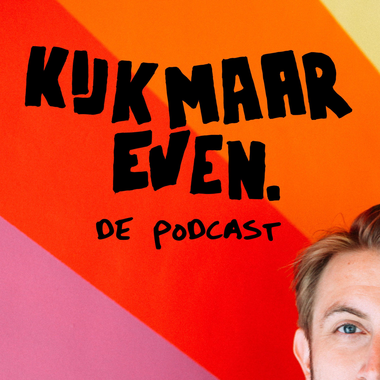 Kijk maar even, de podcast - Bram de Wijs logo