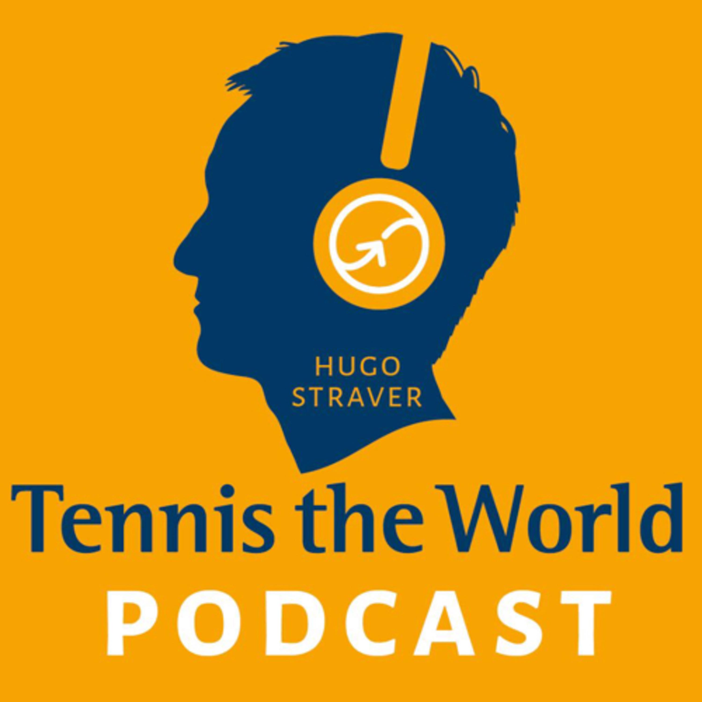 De Tennis the World Podcast logo
