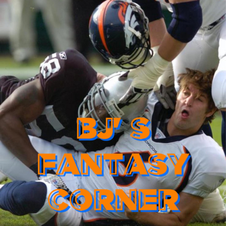 BJ's Fantasy Corner Episode 12, NFL Divisional Round