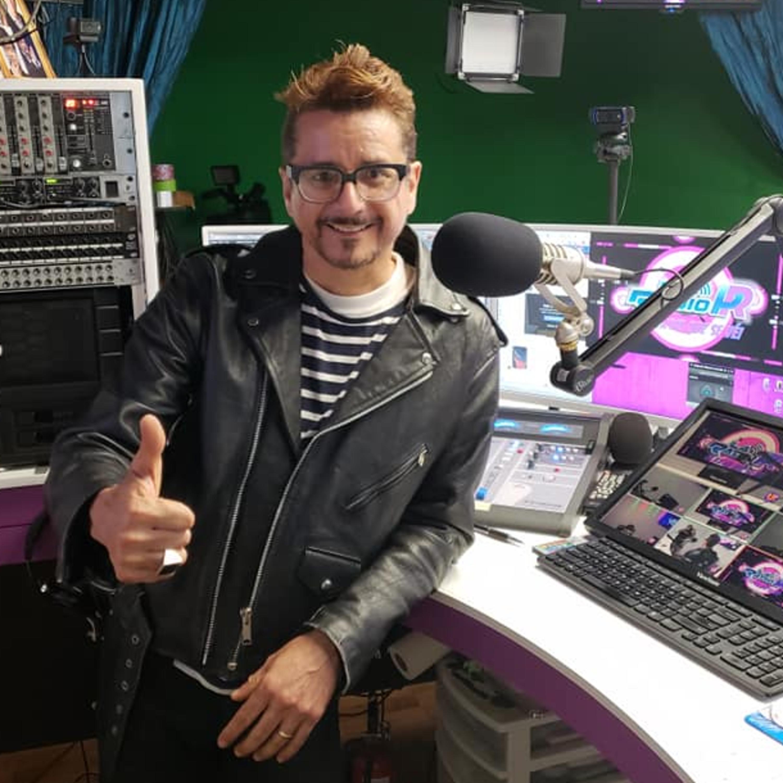 Entrevista Mega Nueva York a Junior Celestino on the air