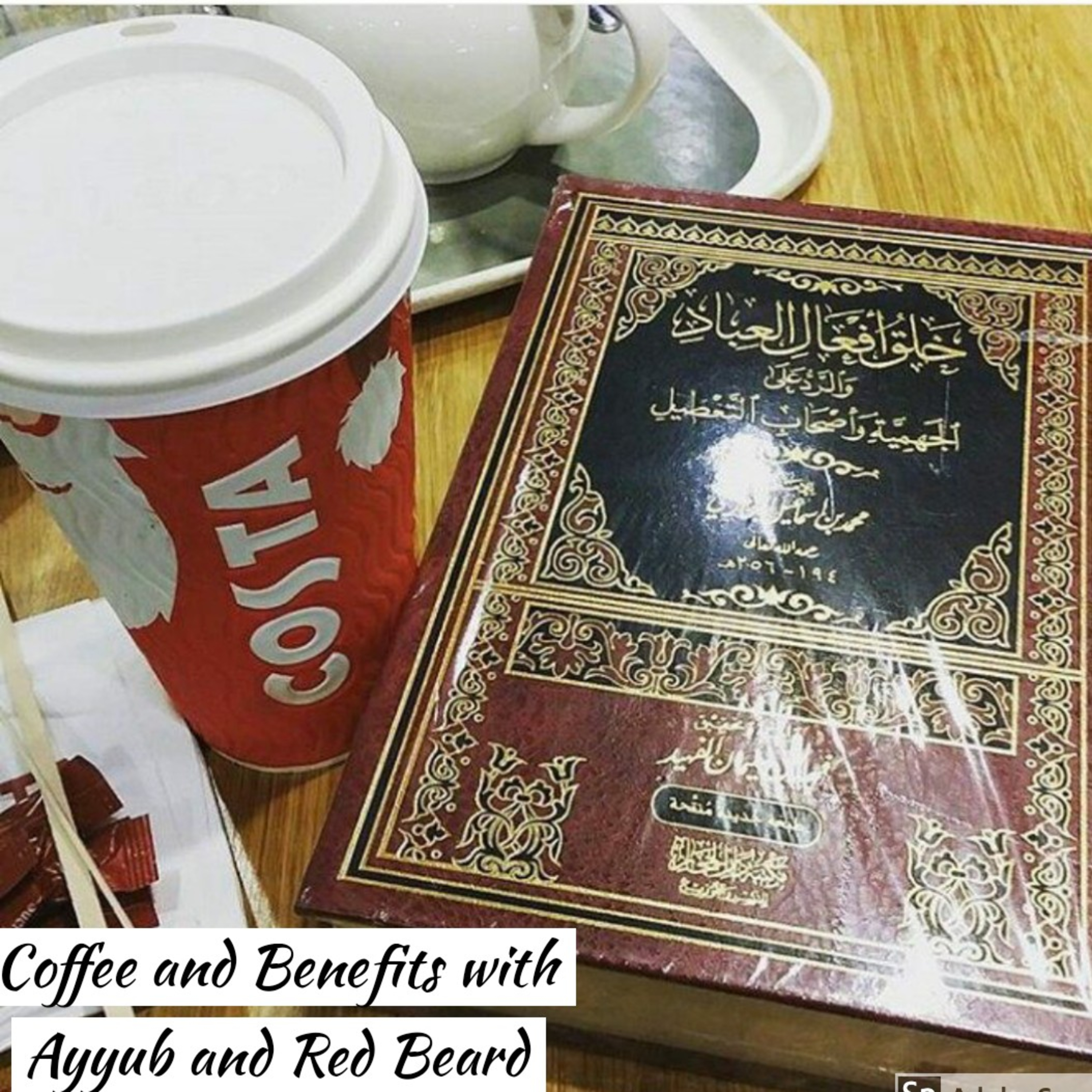 Coffee and Benefits with Ayyub and Red Beard