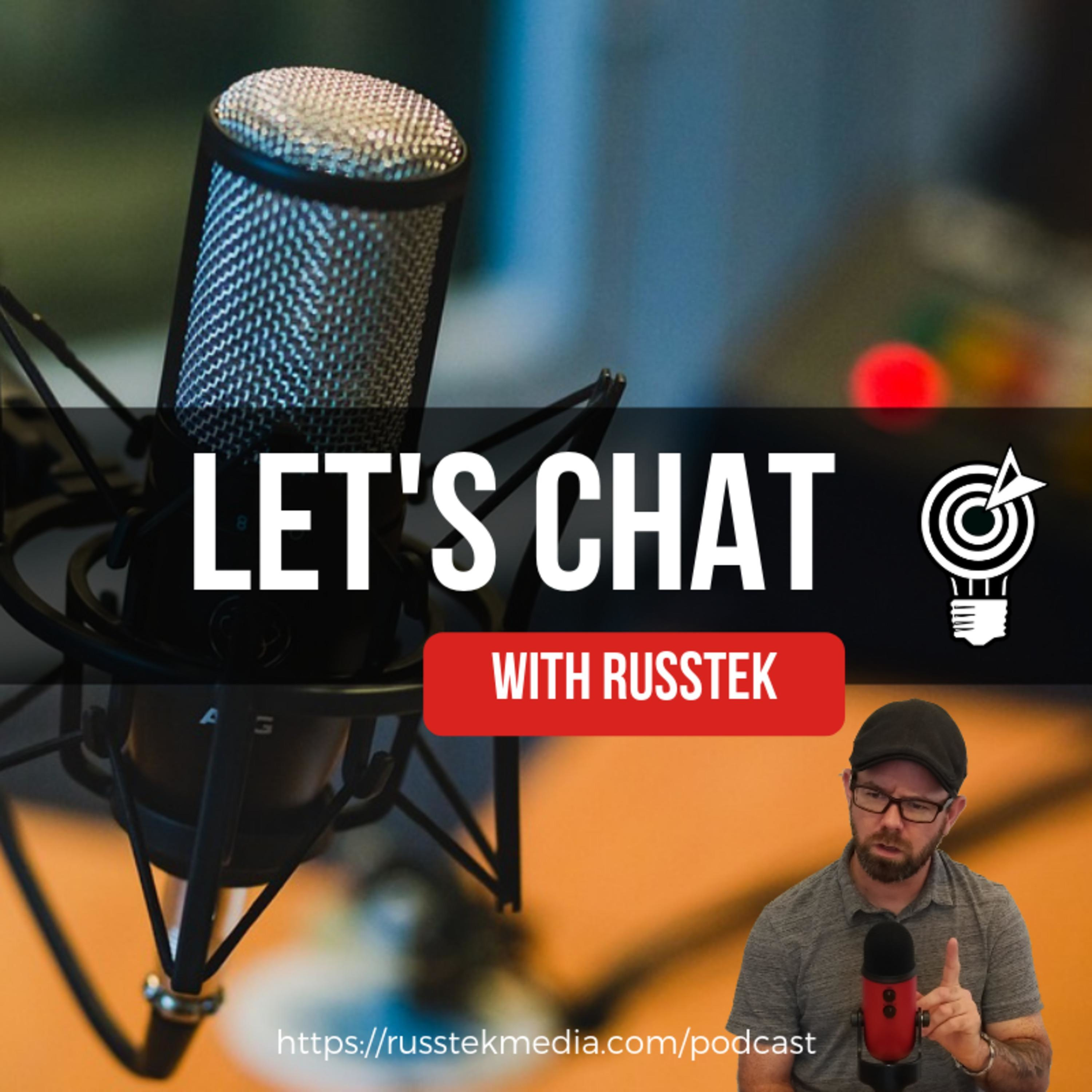 Episode 25 Let's Chat with Russtek about Schedulers!