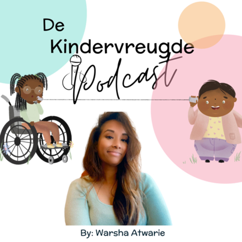 De Kindervreugde Podcast logo