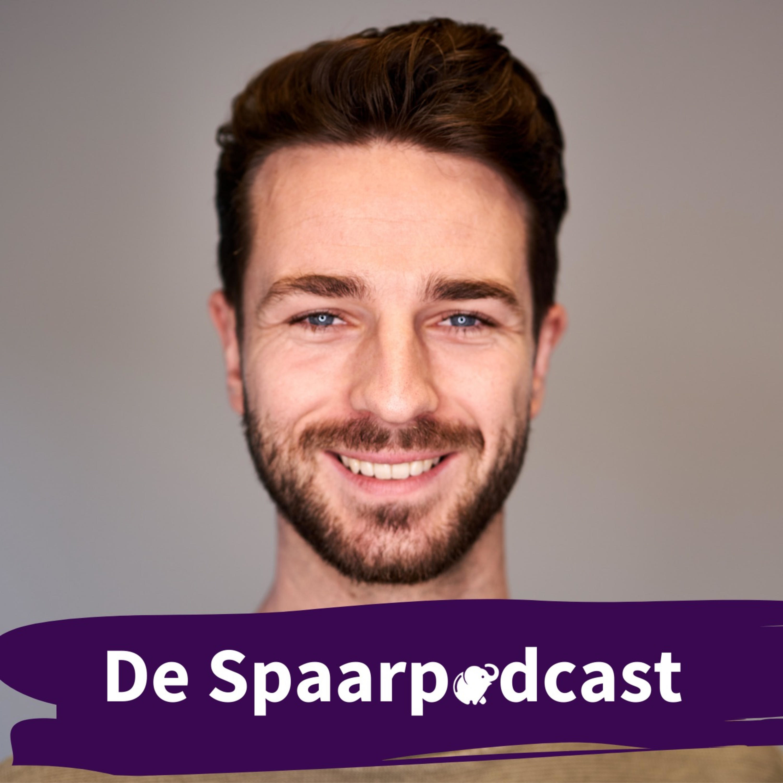De Spaarpodcast logo