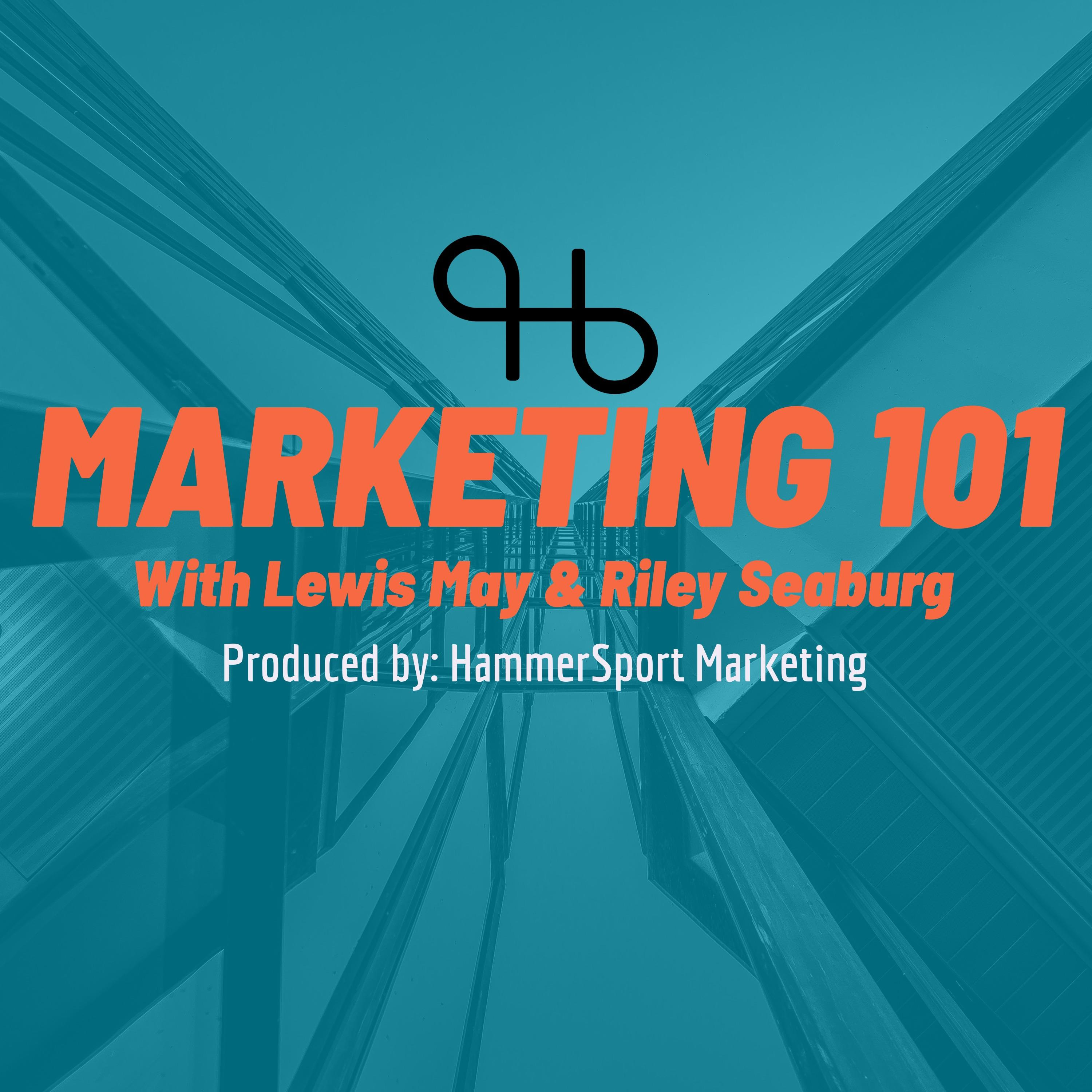 Marketing 101 with Lewis May from Hammersport Marketing