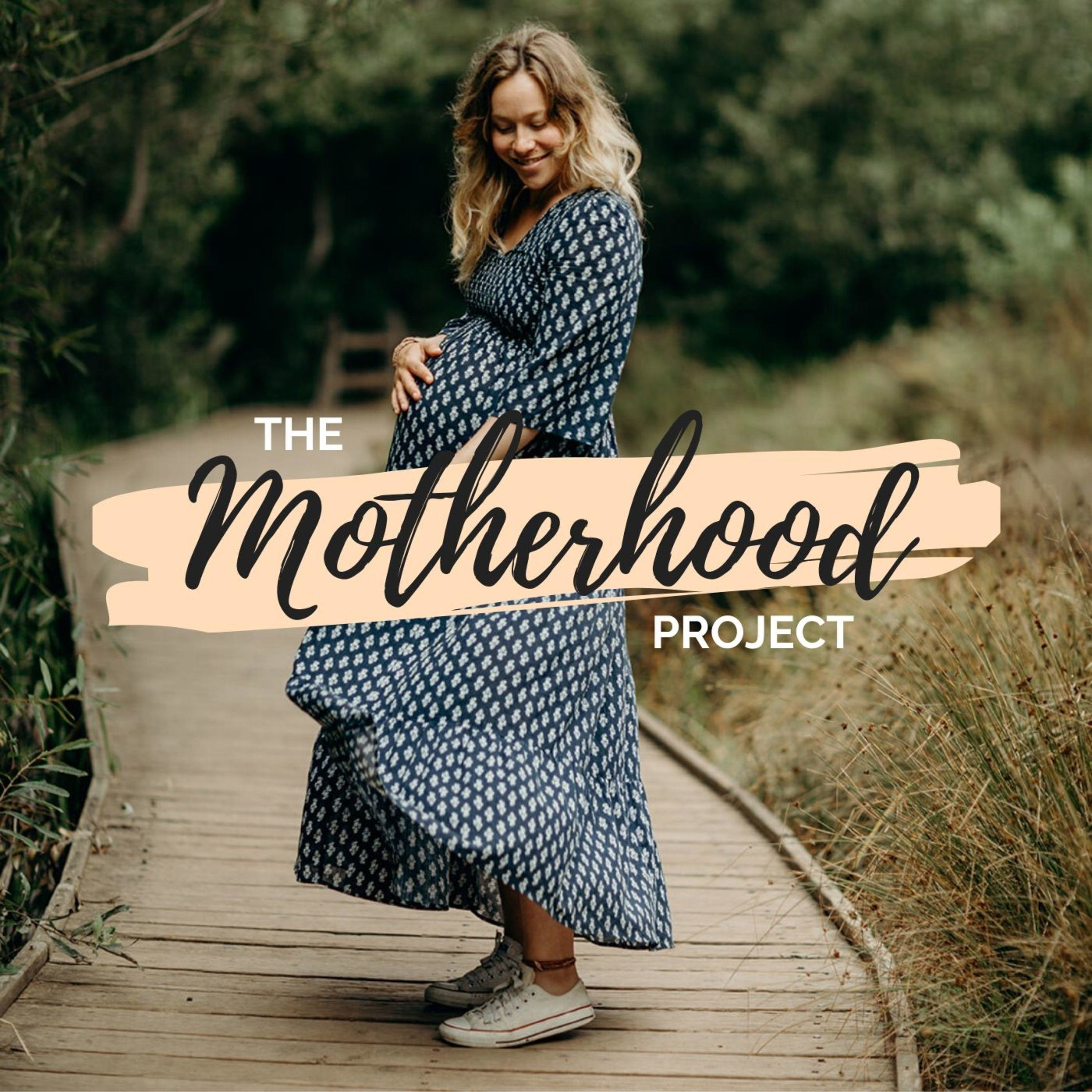 The Motherhood Project with Taylor Pangman podcast show image