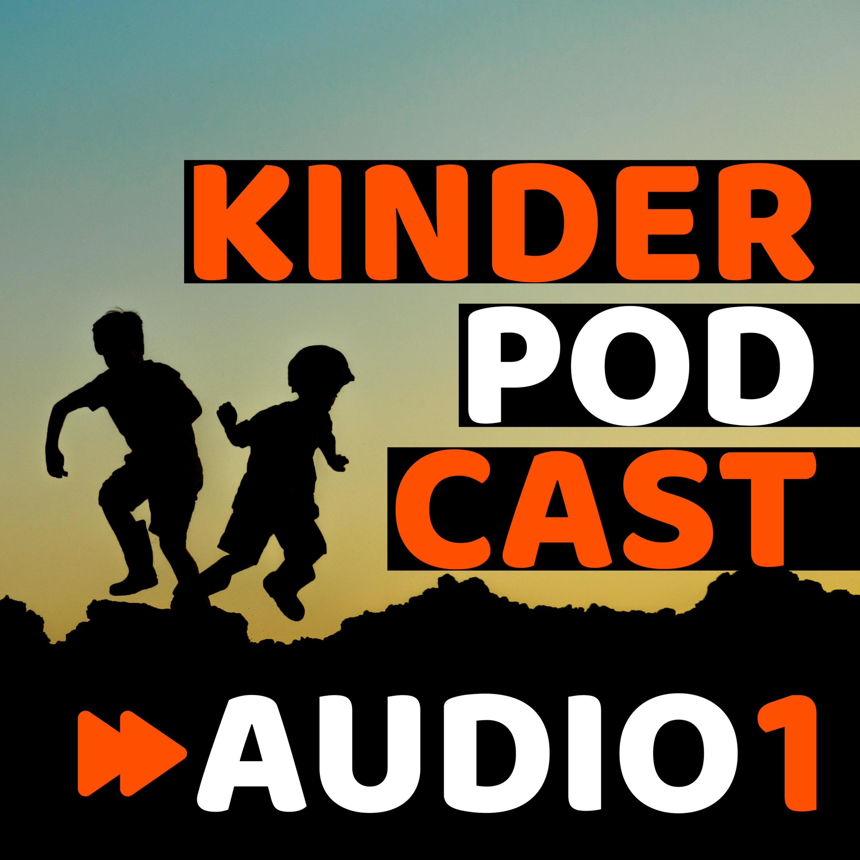 Kinderpodcast AUDIO 1 - Podcast voor kinderen logo