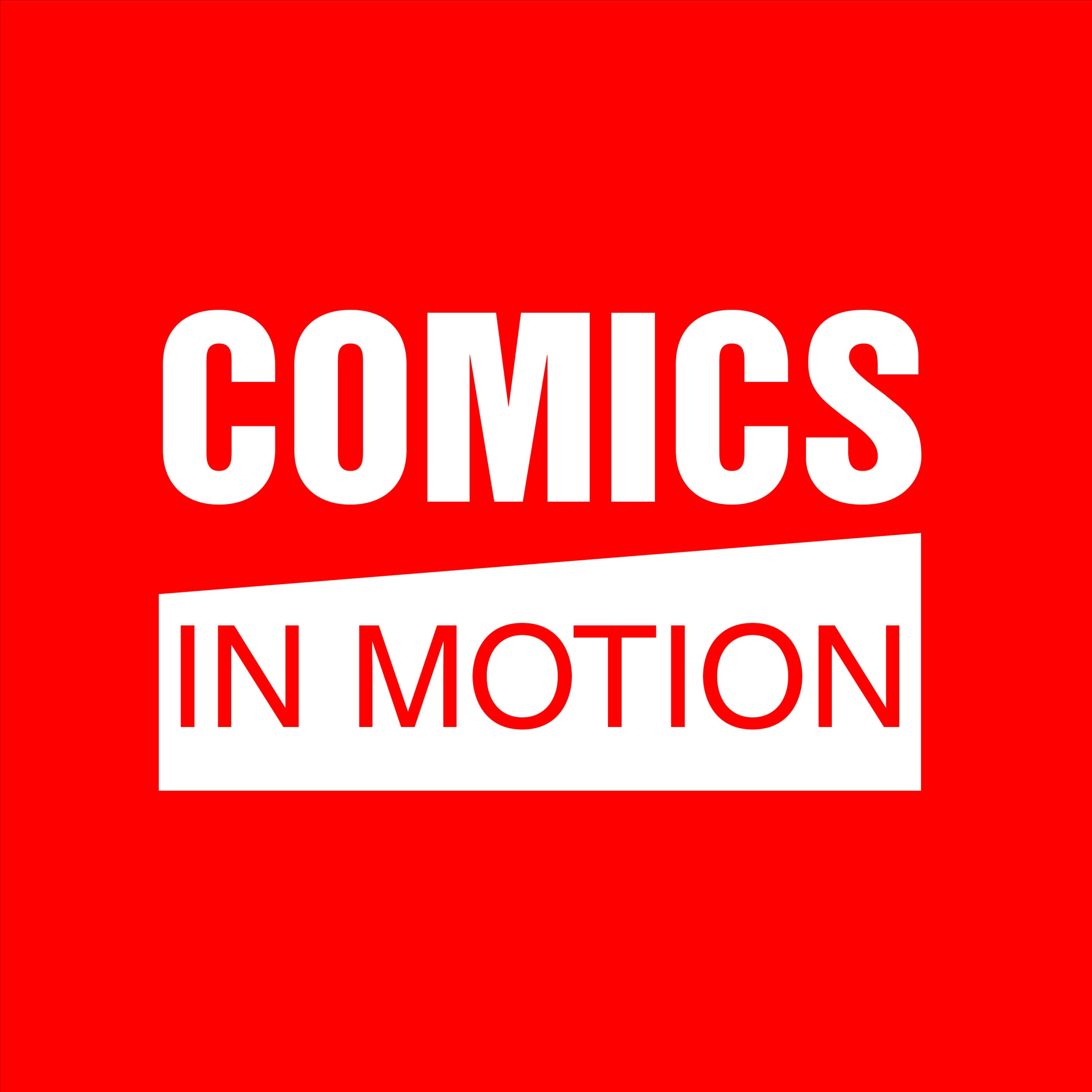 Comics In Motion podcast show image