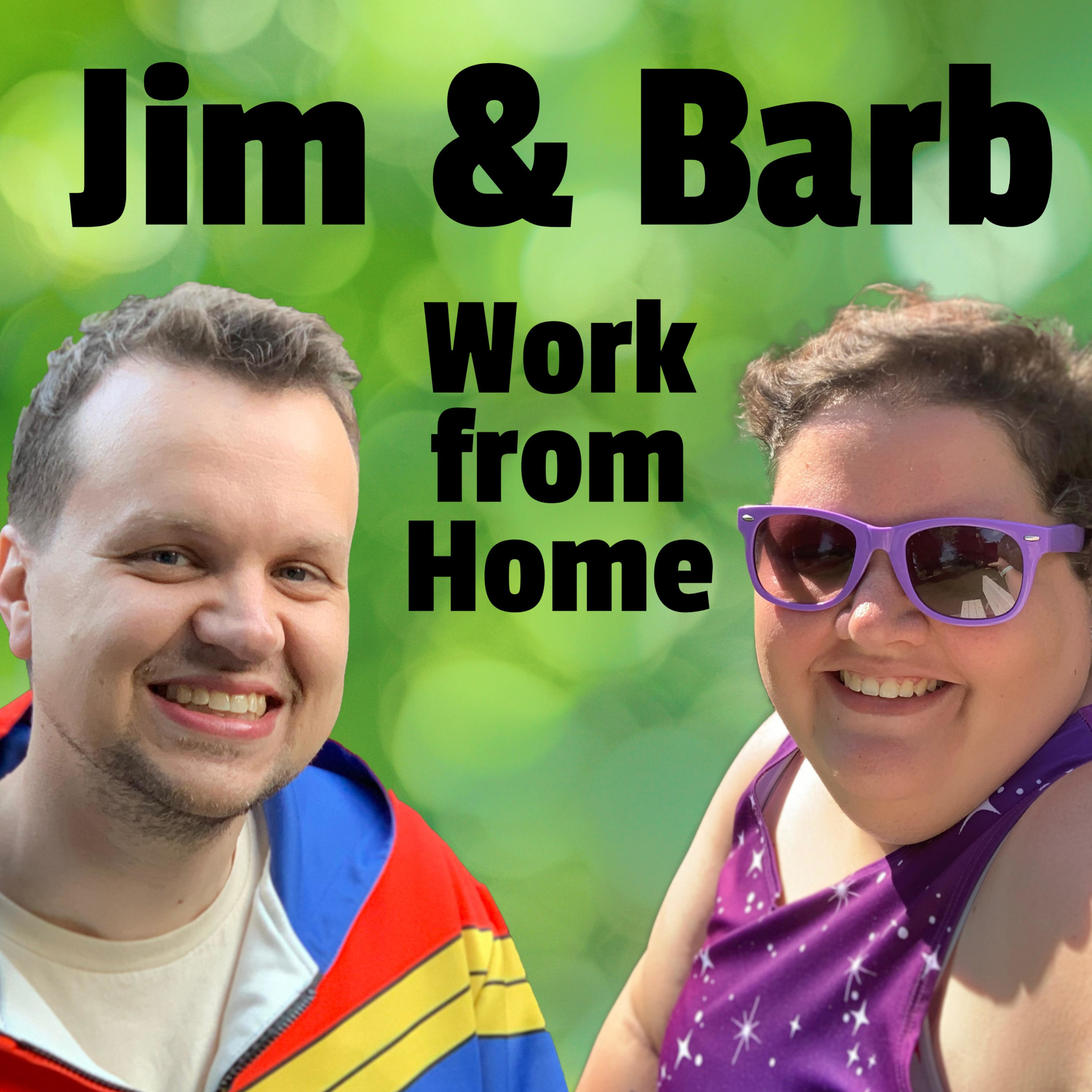 Jim and Barb Work From Home